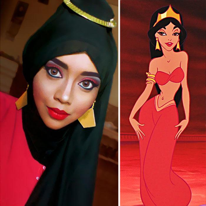 hijab-principesse-disney-makeup-art-queen-of-luna-06
