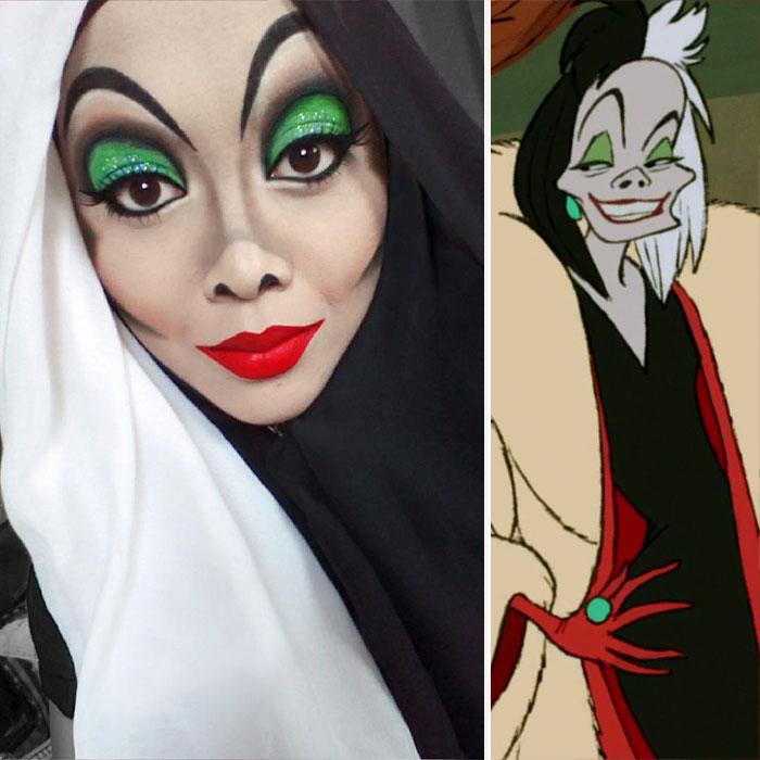 hijab-principesse-disney-makeup-art-queen-of-luna-08