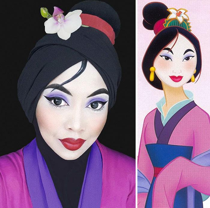hijab-principesse-disney-makeup-art-queen-of-luna-09