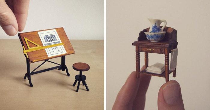 Case in miniatura da collezione keblog for Arredamento in miniatura