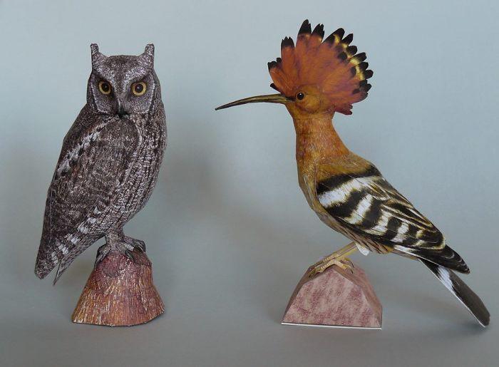 sculture-uccelli-carta-realistici-johan-scherft-06