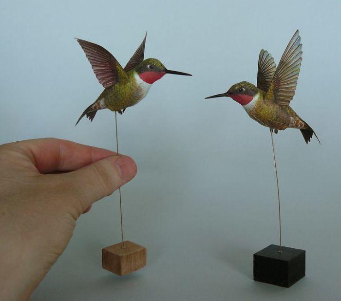 sculture-uccelli-carta-realistici-johan-scherft-07