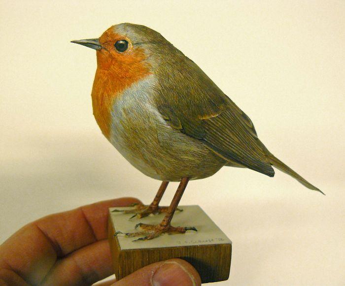 sculture-uccelli-carta-realistici-johan-scherft-23