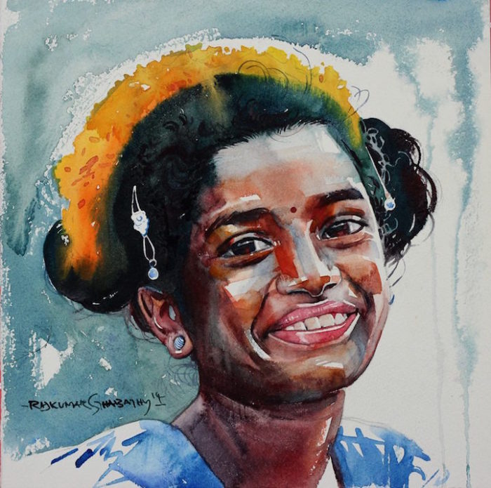 acquerelli-volti-india-rajkumar-sthabathy-09