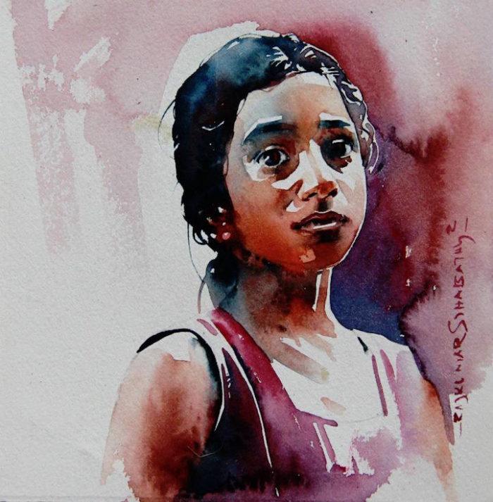 acquerelli-volti-india-rajkumar-sthabathy-14