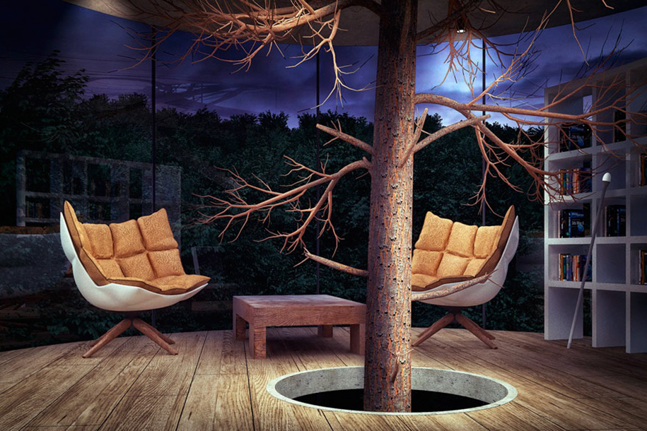 albero-in-casa-di-vetro-aibek-almassov-architettura-4