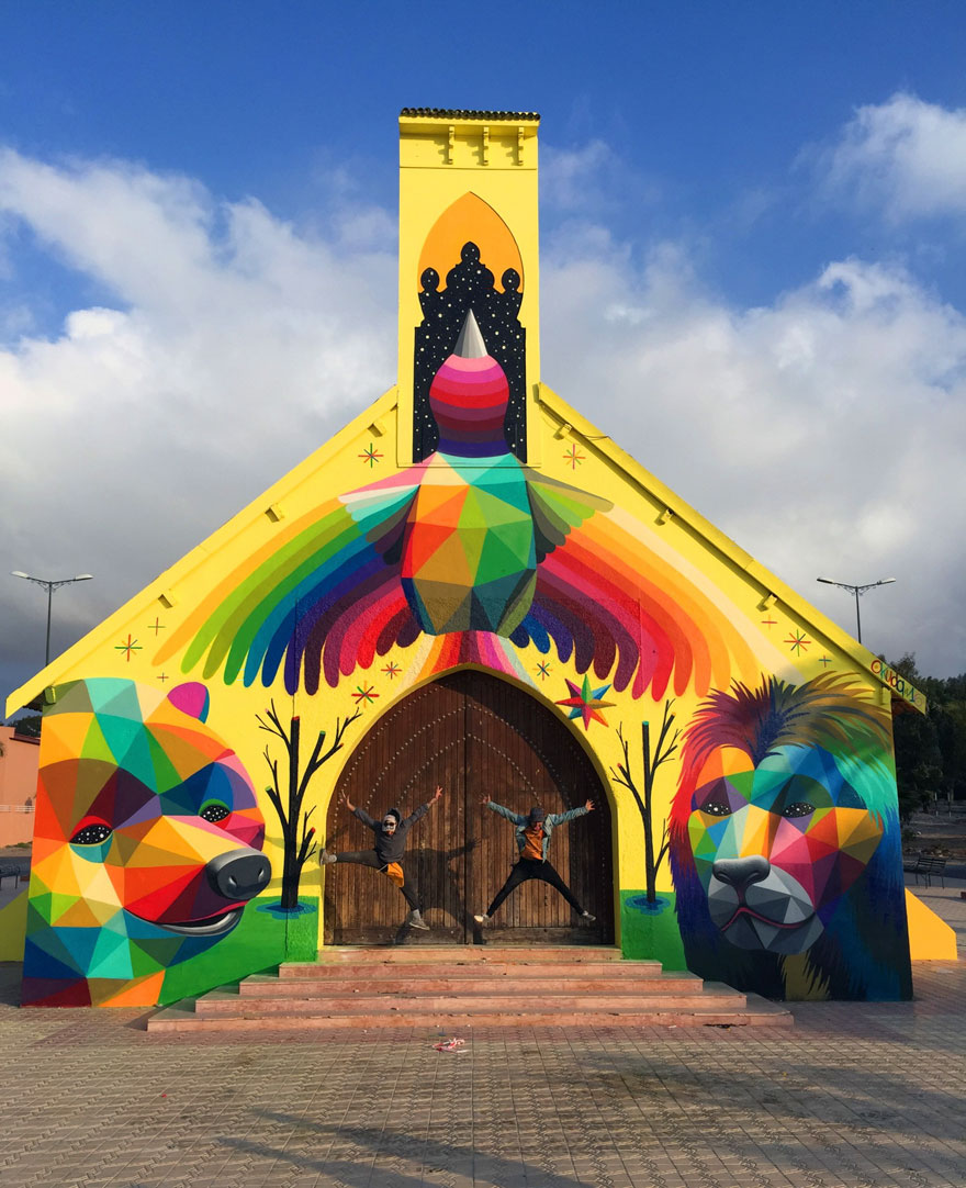 chiesa-abbandonata-dipinta-urban-street-art-okuda-san-miguel-06