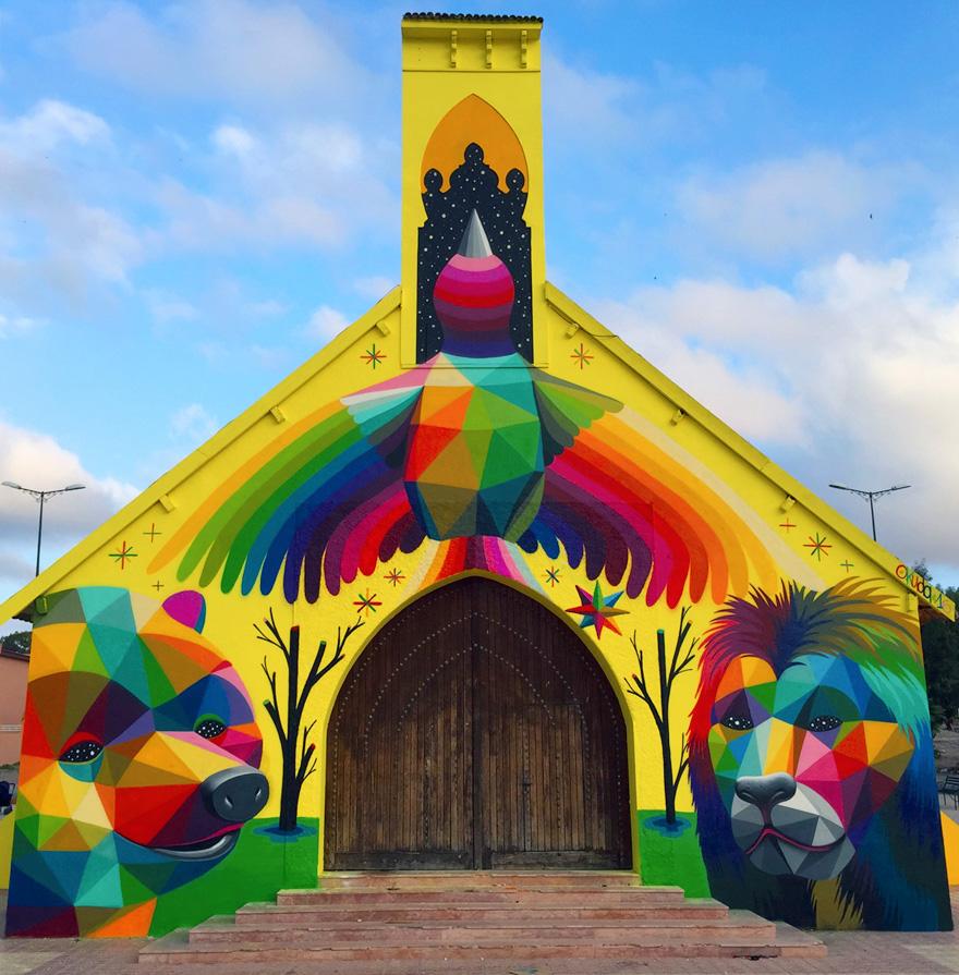 chiesa-abbandonata-dipinta-urban-street-art-okuda-san-miguel-11