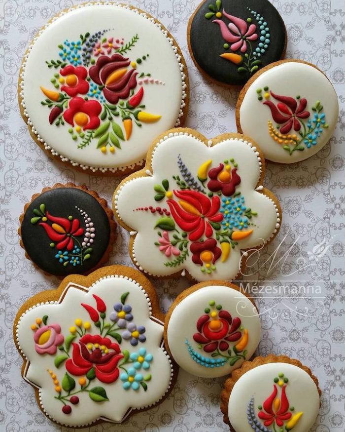 le incredibili decorazioni su biscotti di mezesmanna - keblog - Decorazioni Con Biscotti