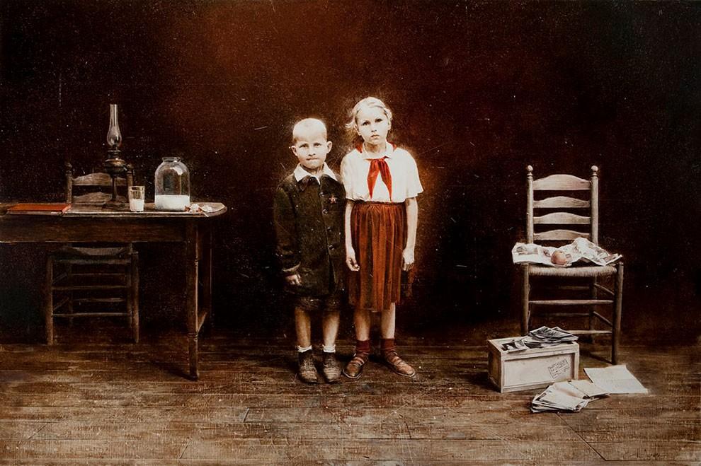 dipinti-pittura-iperrealistica-adolescenza-andrei-zadorine-05
