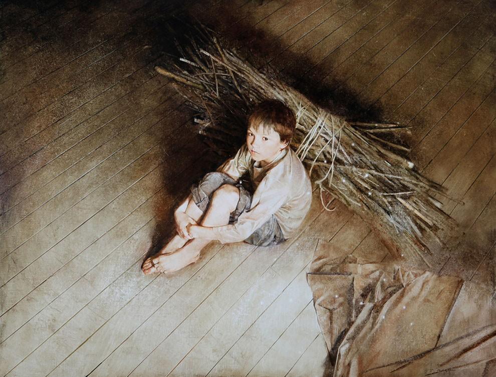 dipinti-pittura-iperrealistica-adolescenza-andrei-zadorine-11