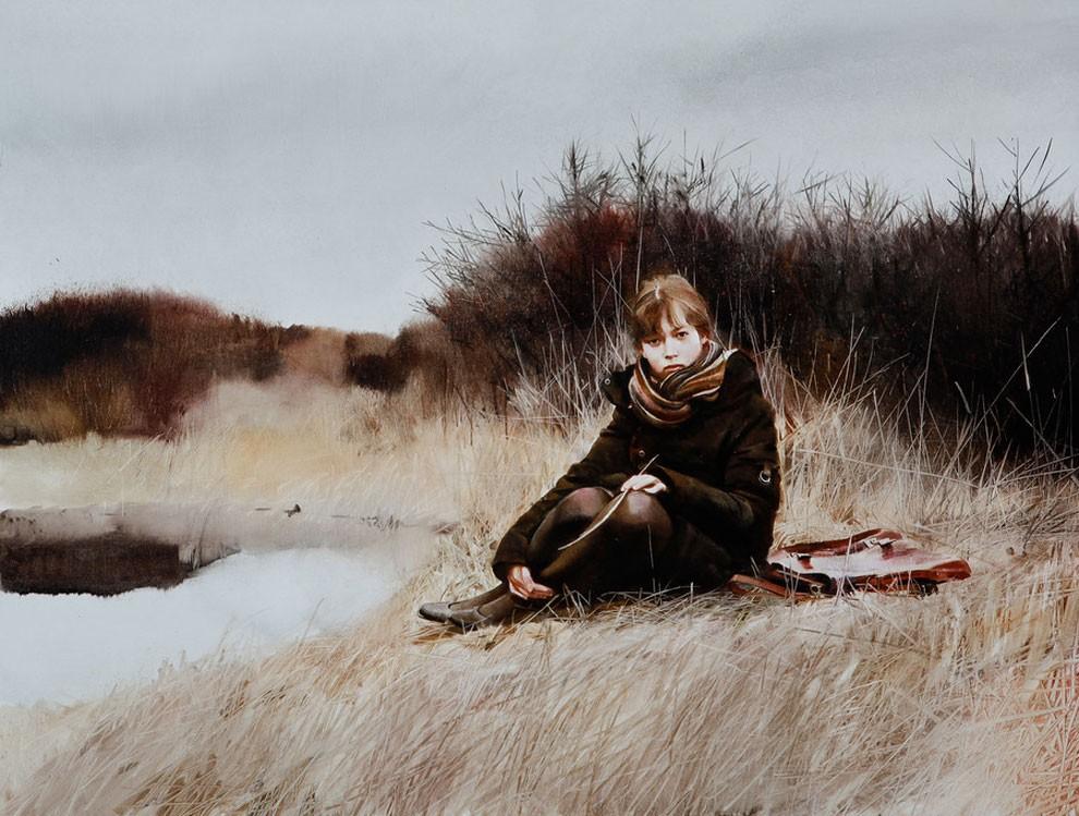 dipinti-pittura-iperrealistica-adolescenza-andrei-zadorine-24