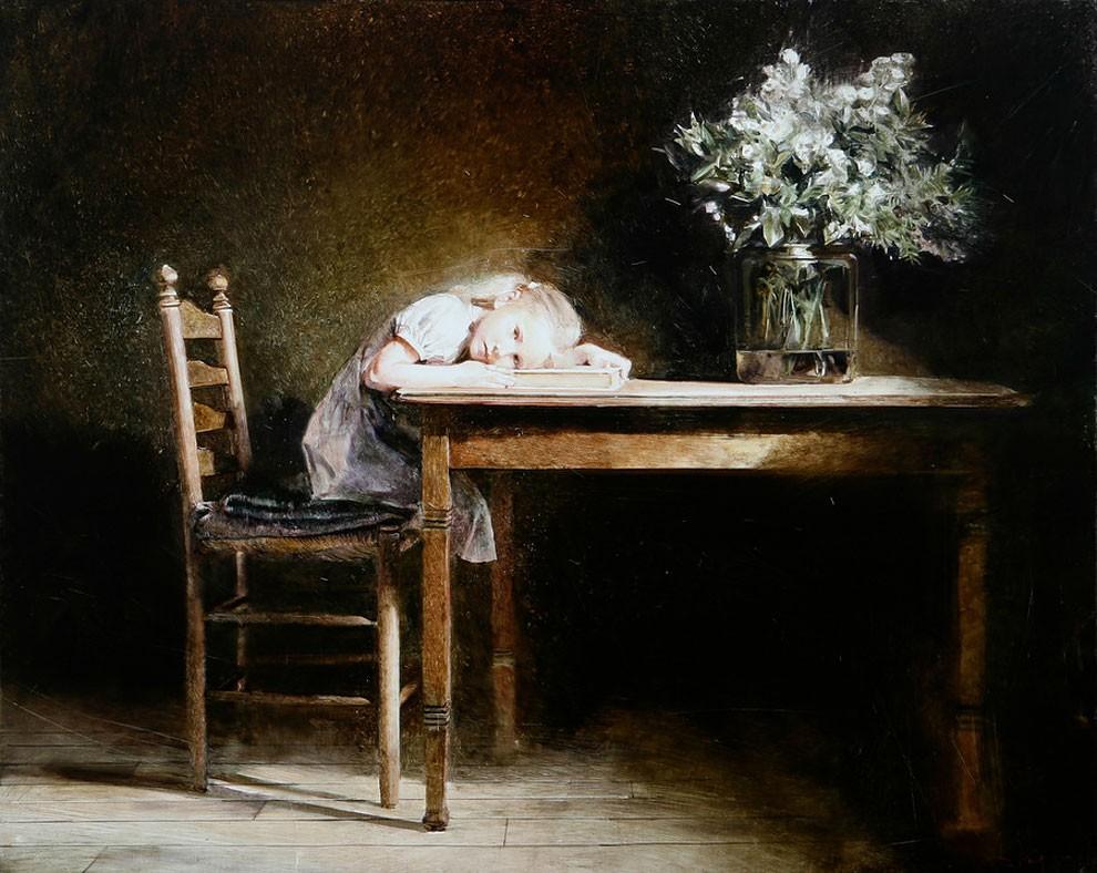 dipinti-pittura-iperrealistica-adolescenza-andrei-zadorine-42
