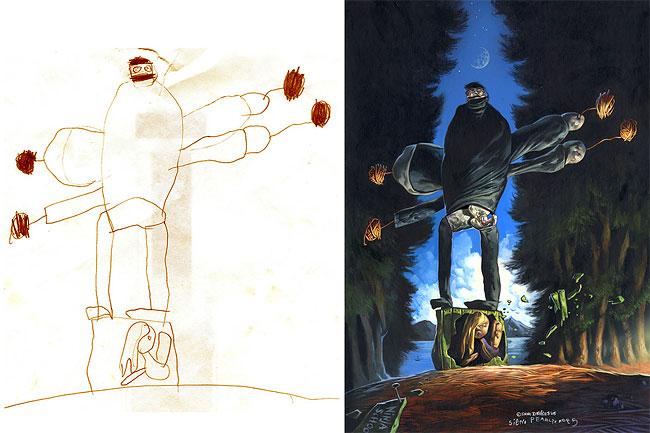 disegni-bambini-dipinti-realistici-the-monster-engine-01