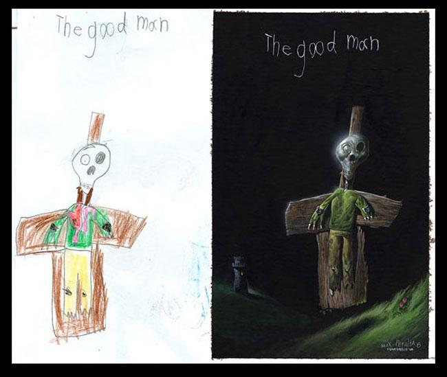 disegni-bambini-dipinti-realistici-the-monster-engine-02