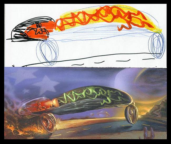 disegni-bambini-dipinti-realistici-the-monster-engine-06