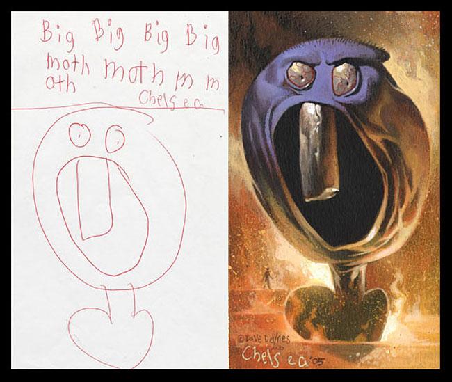 disegni-bambini-dipinti-realistici-the-monster-engine-07