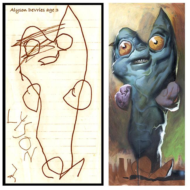 disegni-bambini-dipinti-realistici-the-monster-engine-10