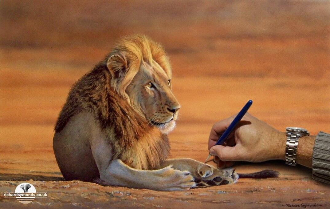 disegni-dipinti-iperrealisti-animali-selvatici-africa-richards-symonds-07