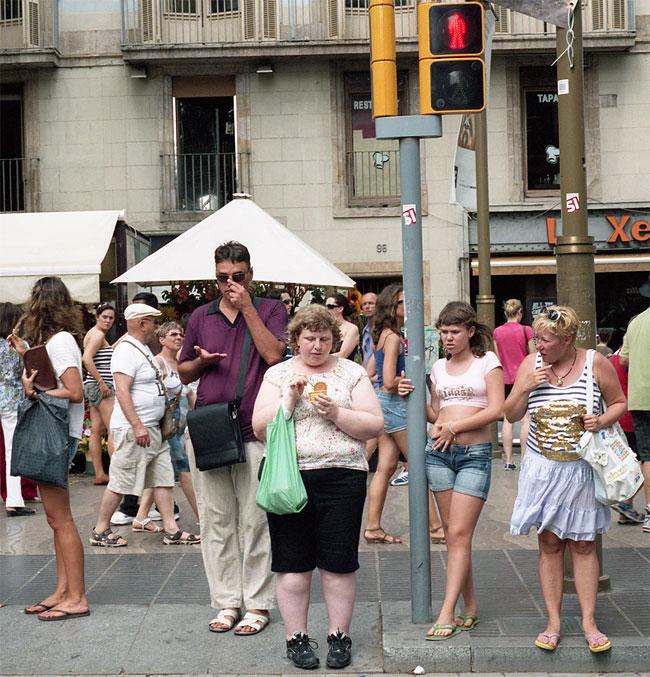 donna-obesa-foto-in pubblico-reazioni-passanti-haley-morris-cafiero-13