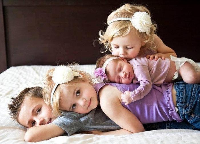 20 meravigliose foto mostrano il legame speciale tra fratelli e sorelle.  Quelli di ... ef55da4db6ca