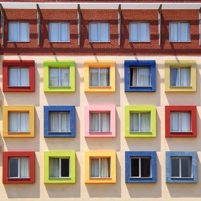 La faccia colorata e moderna di istanbul fotografata da for L architettura moderna