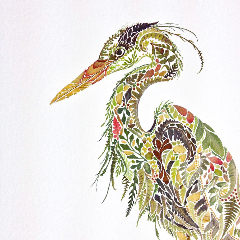 illustrazioni-animali-alghe-felci-foglia-oro-helen-ahpornsiri-01