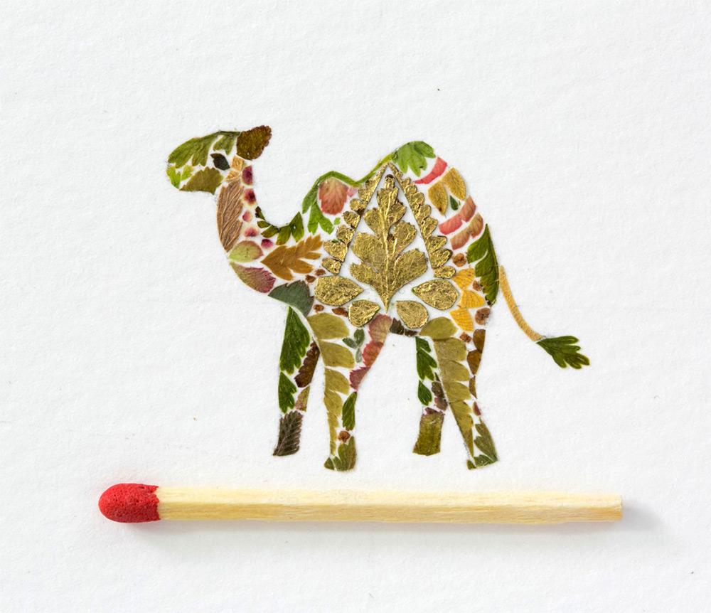 illustrazioni-animali-alghe-felci-foglia-oro-helen-ahpornsiri-08