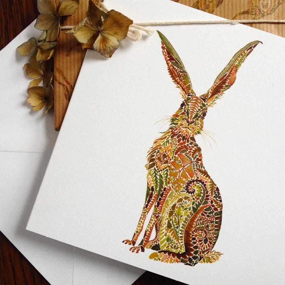 illustrazioni-animali-alghe-felci-foglia-oro-helen-ahpornsiri-12