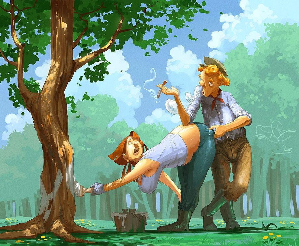 illustrazioni-dipinti-digitali-humor-horror-fantasy-sergey-svistunov-29