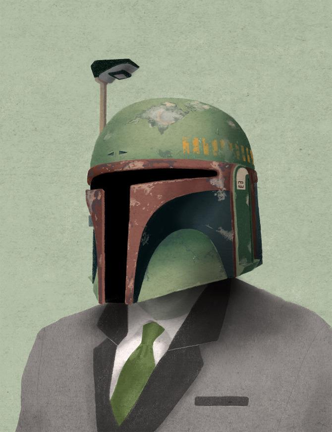 illustrazioni-star-wars-retro-vintage-chase-kunz-bobafett