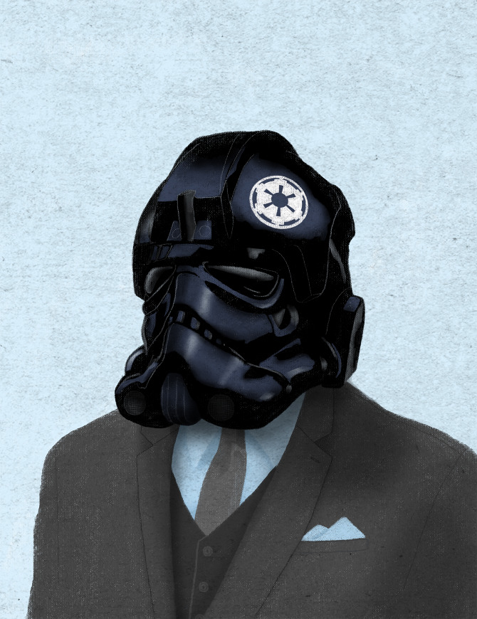 illustrazioni-star-wars-retro-vintage-chase-kunz-tiepilot