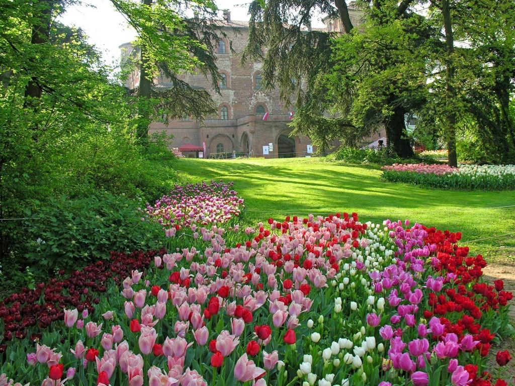 25 posti nel mondo che diventano incredibili giardini - Foto di giardini fioriti ...