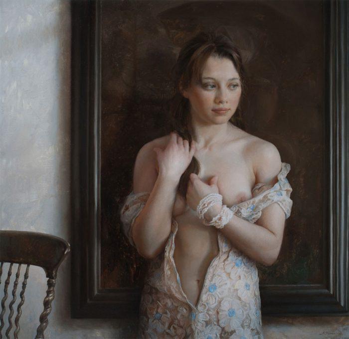 pittura-iperrealista-ritratti-femminili-serge-marshennikov-11