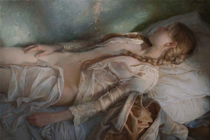 pittura-iperrealista-ritratti-femminili-serge-marshennikov-13