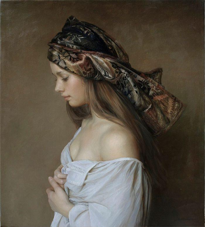 pittura-iperrealista-ritratti-femminili-serge-marshennikov-15