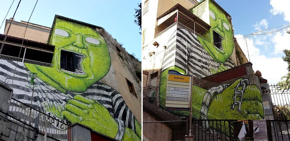 street-art-gigante-verde-napoli-detenuto-ex-carcere-blu-2