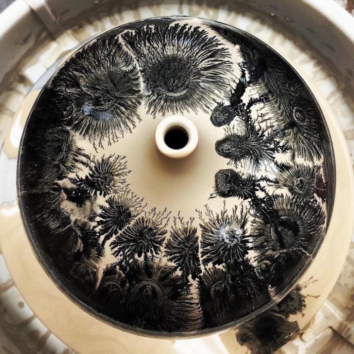tecnica-ceramica-goccia-colore-forme-alberi-kevin-kowalski-1