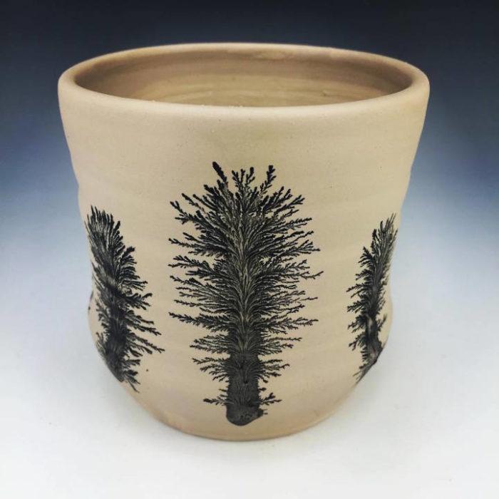 tecnica-ceramica-goccia-colore-forme-alberi-kevin-kowalski-2