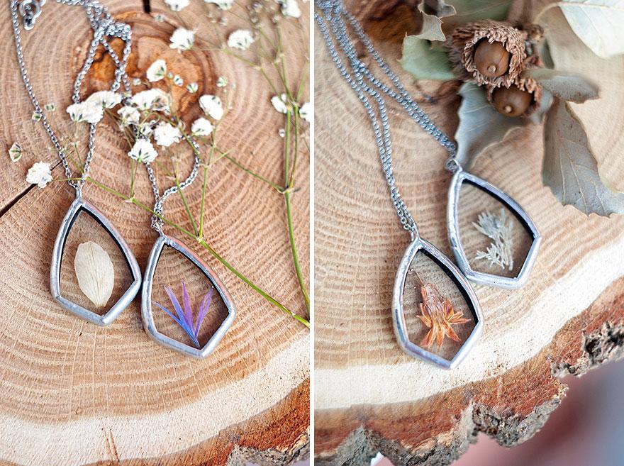 ciondoli-fiori-foglie-vetro-gioielli-korobkova-18
