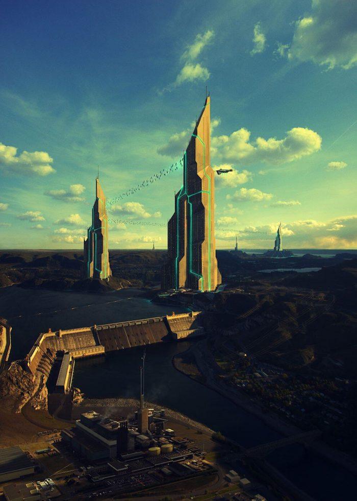 digital-art-illustrazioni-sci-fi-futuro-evgeny-kazantsev-27