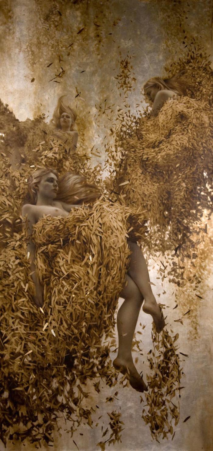 dipinti-donne-foglie-oro-brad-kunkle-17
