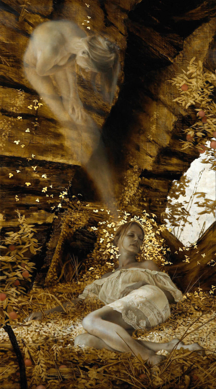 dipinti-donne-foglie-oro-brad-kunkle-22