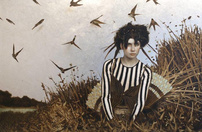 dipinti-donne-foglie-oro-brad-kunkle-23