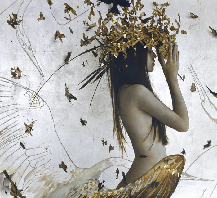 dipinti-donne-foglie-oro-brad-kunkle-26