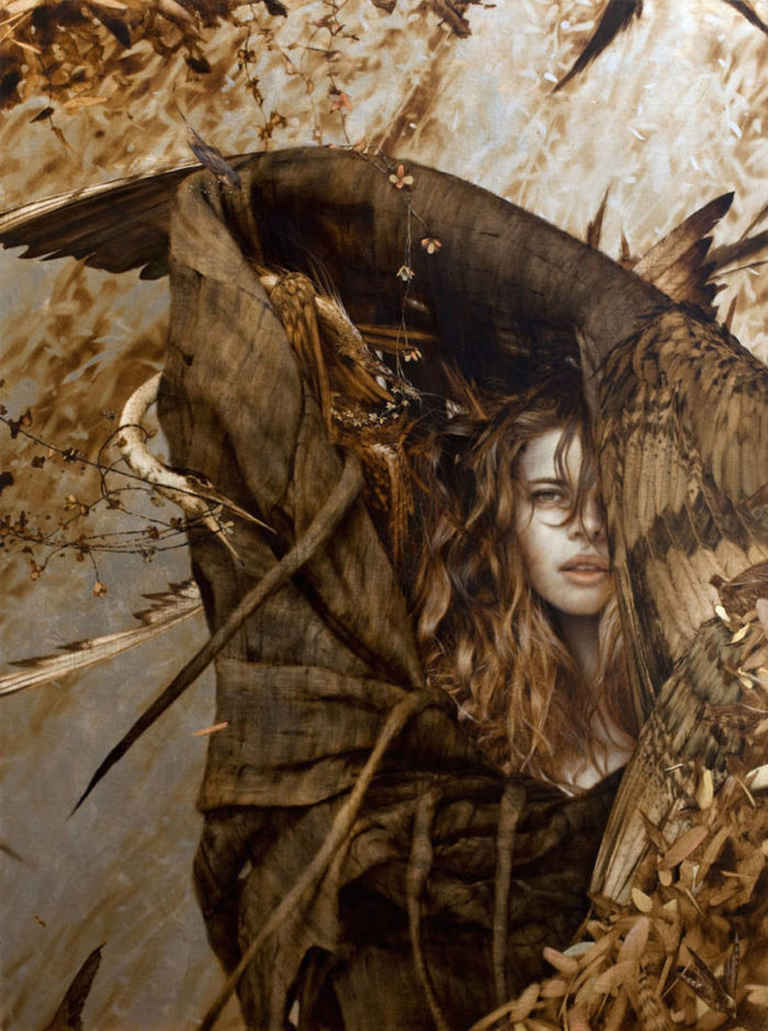dipinti-donne-foglie-oro-brad-kunkle-27
