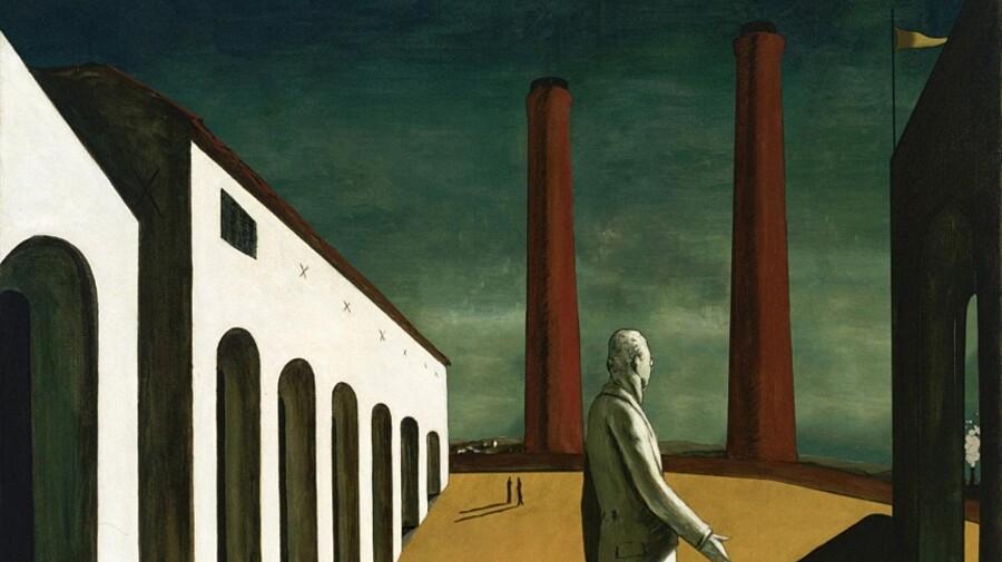 dipinti-giorgio-de-chirico-animati-julien-herman-1