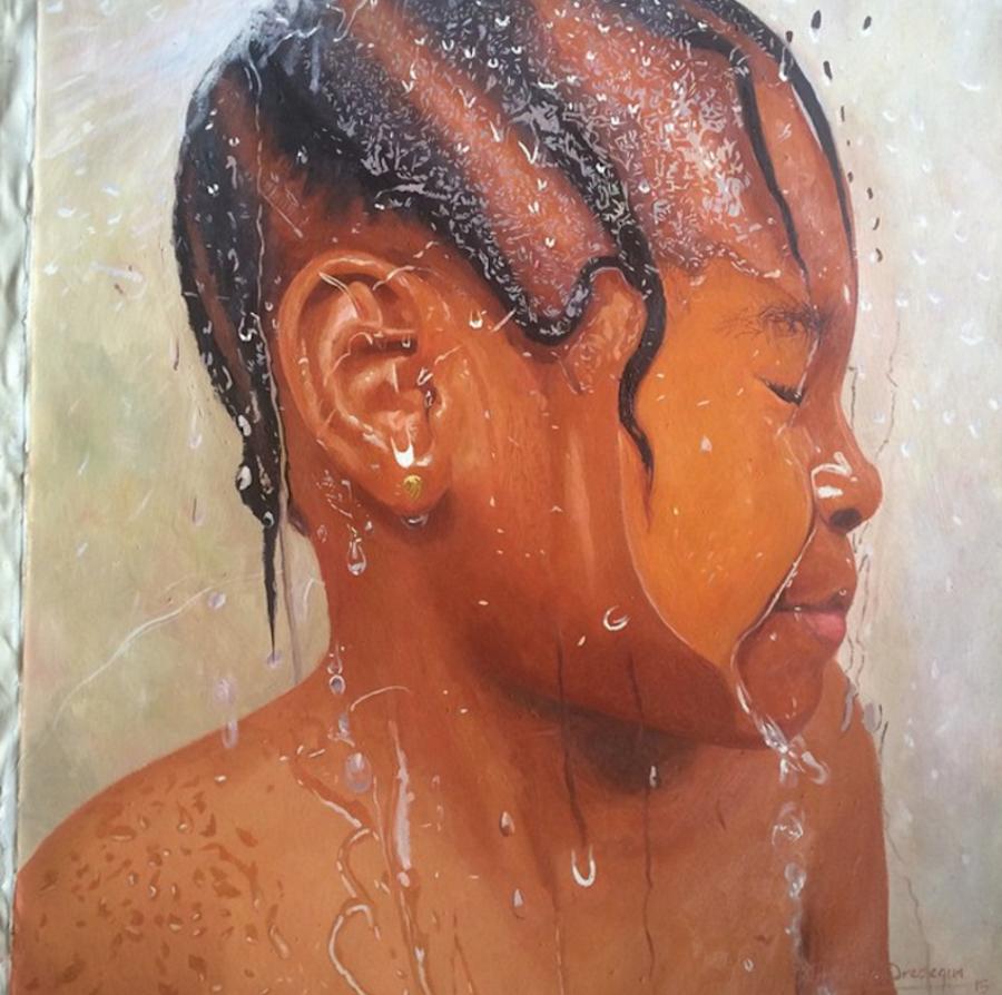 dipinti-iper-realistici-bambini-giocano-acqua-nigeria-oresegun-olumide-5