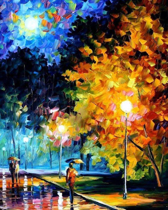 dipinti-olio-impressionismo-paesaggi-autunno-leonid-afremov-05