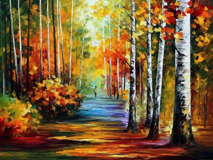dipinti-olio-impressionismo-paesaggi-autunno-leonid-afremov-06